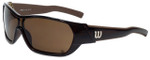 Wilson Designer Sunglasses Hole in One Masters Collection 1013 in Brown with Amber Lens