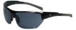 Wilson Designer Sunglasses Gross Masters Collection 1016 in Black with Grey Lens