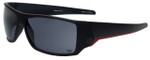 Wilson Designer Sunglasses Strike Major League Collection 1021 in Black with Grey Lens