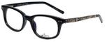 Whims Designer Eyeglasses TR5885AK in Black 50mm :: Custom Left & Right Lens