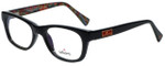 Whims Designer Eyeglasses TRO9141AK in Black 50mm :: Custom Left & Right Lens