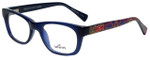 Whims Designer Eyeglasses TRO9141AK in Navy 50mm :: Custom Left & Right Lens