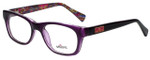 Whims Designer Eyeglasses TRO9141AK in Purple 50mm :: Custom Left & Right Lens