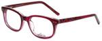 Whims Designer Eyeglasses TR5885AK in Berry 50mm :: Rx Single Vision