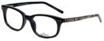 Whims Designer Eyeglasses TR5885AK in Black 50mm :: Progressive