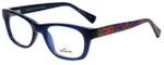 Whims Designer Eyeglasses TRO9141AK in Navy 50mm :: Progressive