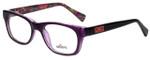 Whims Designer Eyeglasses TRO9141AK in Purple 50mm :: Progressive