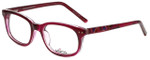 Whims Designer Reading Glasses TR5885AK in Berry 50mm
