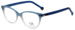 Carolina Herrera Designer Eyeglasses VHE660-0N91 in Blue Fade 52mm :: Progressive