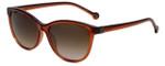 Carolina Herrera Designer Sunglasses SHE653-01F3 in Brown Plasticmm