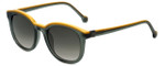 Carolina Herrera Designer Sunglasses SHE654-06S8 in Smoke and Orange Plasticmm