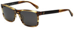 Carolina Herrera Designer Sunglasses SHE657-0T94 in Brown Marble Plasticmm