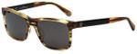 Carolina Herrera Designer Sunglasses SHE657-0T94 in Brown Marble Plasticmm
