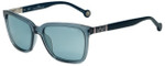 Carolina Herrera Designer Sunglasses SHE692-9ABG in Crystal Blue Plasticmm