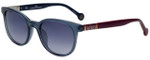 Carolina Herrera Designer Sunglasses SHE693-0NV7 in Smoke and Orange Plasticmm
