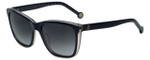 Carolina Herrera Designer Sunglasses SHE695-0N86 in Dark Blue Plasticmm