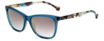 Carolina Herrera Designer Sunglasses SHE749-06N1 in Blue Plasticmm