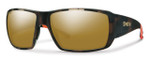 Smith Optics Guide's Choice Sunglasses in Howler Matte Tortoise with Polarized Bronze Mirror Lens