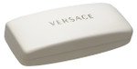 Versace Authentic Hard Eyeglass Case in White Slim SIZE