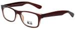 Gotham Style Designer Eyeglasses G229 in Brown 60mm :: Custom Left & Right Lens