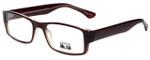 Gotham Style Designer Eyeglasses G232 in Brown 60mm :: Custom Left & Right Lens