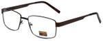 Gotham Style Designer Eyeglasses GS14 in Brown 59mm :: Custom Left & Right Lens