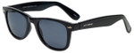 Lucky Brand Designer Sunglasses Campbell in Black with Grey Lens