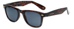 Lucky Brand Designer Sunglasses Campbell in Tortoise with Grey Lens