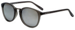 Lucky Brand Designer Sunglasses Indio in Matte Grey with Silver Mirror Lens