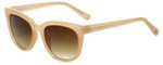 Lucky Brand Designer Sunglasses Newberry in Blush with Brown Gradient Lens