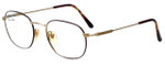 Polo Ralph Lauren Designer Reading Glasses Polo Classic-201 in Tortoise and Gold 52mm