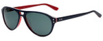 Converse Designer Sunglasses Y006 in Navy Stripe 56mm