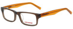 Converse Designer Eyeglasses K003 in Brown 45mm :: Custom Left & Right Lens