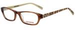 Converse Designer Eyeglasses K007 in Brown 49mm :: Custom Left & Right Lens