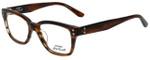 Converse Designer Eyeglasses P003 in Brown Horn 51mm :: Custom Left & Right Lens