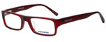 Converse Designer Eyeglasses Q007 in Burgundy 52mm :: Custom Left & Right Lens