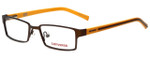 Converse Designer Eyeglasses K010 in Brown 47mm :: Custom Left & Right Lens