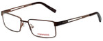 Converse Designer Eyeglasses K008 in Brown 49mm :: Rx Single Vision