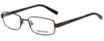 Converse Designer Eyeglasses K101 in Brown 48mm :: Rx Single Vision