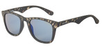 Carrera 89223 Grey Stripe Wayfarer Sunglasses