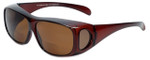 Calabria 43199BF Polarized Bi-Focal Over Sunglasses