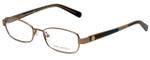 Tory Burch Designer Eyeglasses TY1027-116 in Rose Gold 52mm :: Custom Left & Right Lens