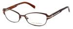 Tory Burch Designer Eyeglasses TY1028-345 in Taupe & Gold 50mm :: Custom Left & Right Lens