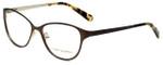 Tory Burch Designer Eyeglasses TY1030-434 in Light Brown Gold 53mm :: Custom Left & Right Lens