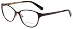 Tory Burch Designer Eyeglasses TY1030-435 in Dark Brown Taupe 51mm :: Rx Single Vision