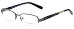 Tory Burch Designer Eyeglasses TY1031-103 in Gunmetal 50mm :: Progressive