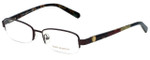 Tory Burch Designer Eyeglasses TY1031-147 in Burgundy 52mm :: Progressive