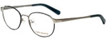 Tory Burch Designer Eyeglasses TY1034-128 in Silver Denim 51mm :: Progressive