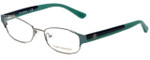 Tory Burch Designer Eyeglasses TY1037-3002 in Mint Silver 50mm :: Progressive