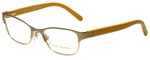 Tory Burch Designer Eyeglasses TY1040-3029 in Satin Sand Gold 51mm :: Progressive